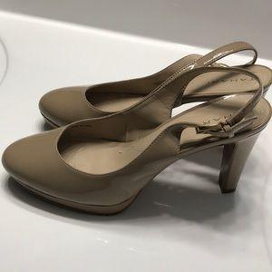 Nude size 8 heels